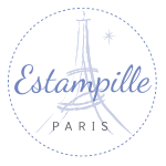 Logo Estampille Paris mode enfant et adolescent