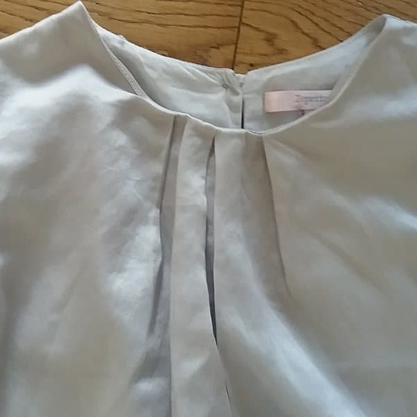Repetto blouse en 50% soie col
