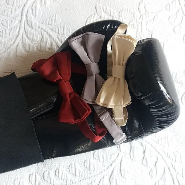 noeud papillon pour fêtes et cérémonies gant de boxe
